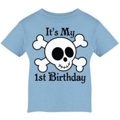 1st Birthday Skull