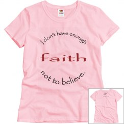 Not Enough Faith