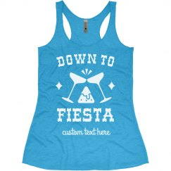 Down to Fiesta Funny Cinco De Mayo Tank