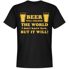 Beer Will Change Things