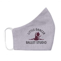 Custom Dance Studio Name Kids Mask
