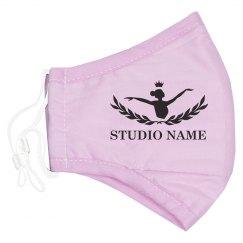 Dance Studio Ballerina Mask