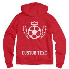 Soccer Girl Team Custom Hoodie