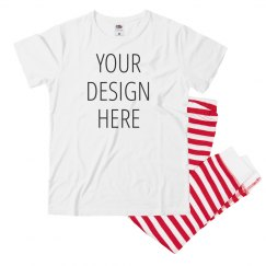 Your Design Youth Striped PJs