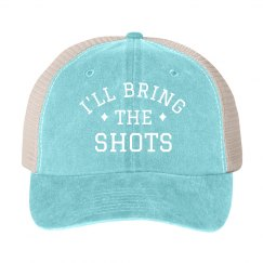 I'll Bring the Shots Bachelorette Hat