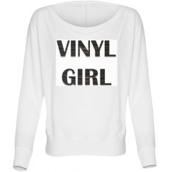Vinyl Girl Longsleeve