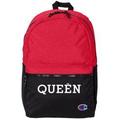Hot Pink Queen Bookbag