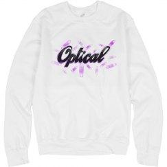 Optical Crystal Sweatshirt