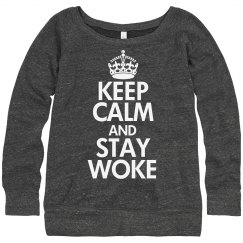 Stay Woke Slouchy Sweater