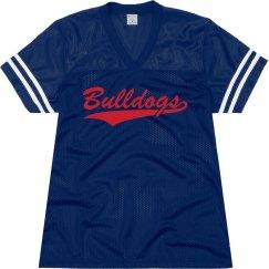 Quitman bulldogs shirt.