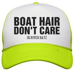 BOAT HAIR DON'T CARE