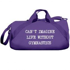 Can't imagine no gymnastics