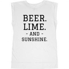 Beer, Lime & Sunshine