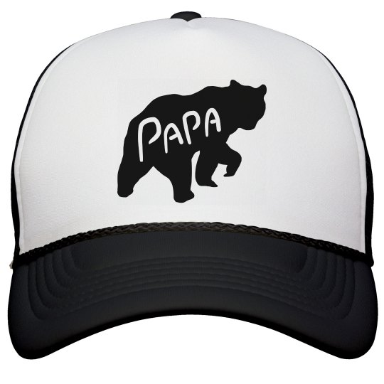 c824b46af Father's Day Papa Bear Hat