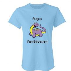 hug a herbivore