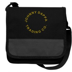 Johnny Dappa Trading Co. Messenger Cooler Bag