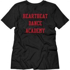 Heartbeat VNeck Tee