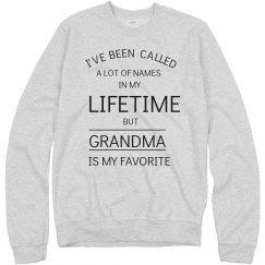 Grandma my favorite name