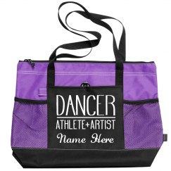Custom Dance Bag Add Name