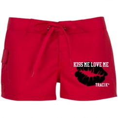 kISS mE lOVE mE SWIMSHORTS