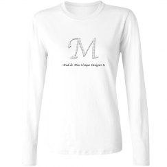 Mud-di: Miss Unique Designer Is Long Seeve Shirt