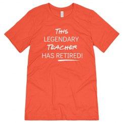 This legendary teacher has retired