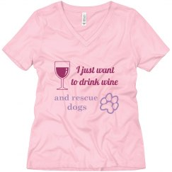 Drink wine t-shirt