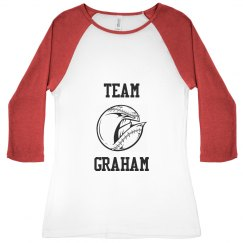 Graham It Baseball Tee