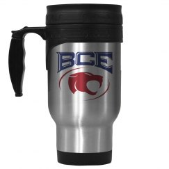 BCE stainless steel mug
