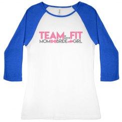 Team Fit Logo Baseball Shirt