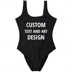 Add Text & Graphics To This Swimsuit