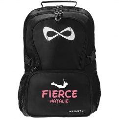 Fierce Cheerleader Black Nfinity Backpack