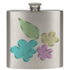 Jelly Flowers Flask