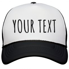 Custom Text Hat For Parties