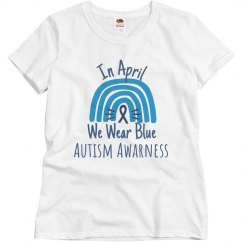 In April, Autism Awarness