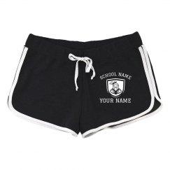 Custom Knights Mascot School Shorts
