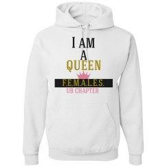 I am a queen hoodie
