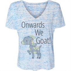 Onwards we Goat! T-shirt