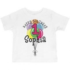 1 year old! Sophia