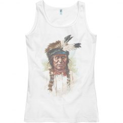 Blackfoot Sioux Chief: Red Thunder Tank Top