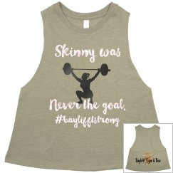 Skinny was never the goal