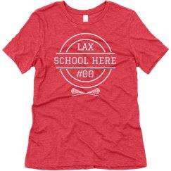 Custom Lacrosse Team Shirts