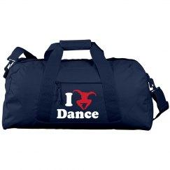 I Love Dance Bag
