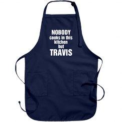 Travis is the cook!