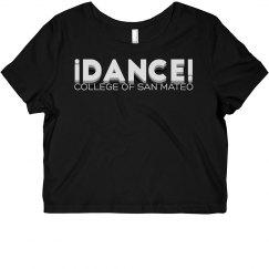 CSM Dance Short Sleeve Crop Top - iDance