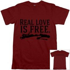 Love Is Free Men's Tee