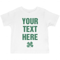 Custom St Pat Shirts For Kids
