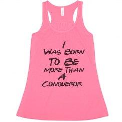 Conqueror Flowy Lightweight RacerBack Tank (Pink)