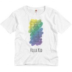 Villa Kid Painted Villa Logo Tee