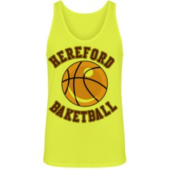 Hereford basketball tank